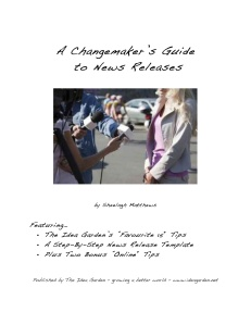 Cover Changemaker's Guide to News Releases